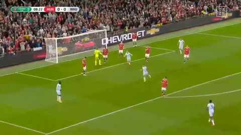 Manchester United 0-1 West Ham (Carabao Cup)