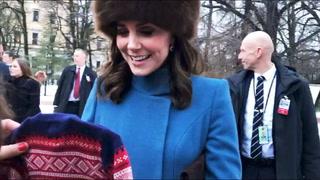 Her får hertuginne Kate mariusgenser