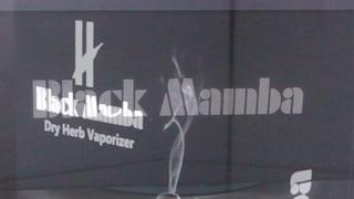 Black Mamba - Vaporizador de Ervas Secas