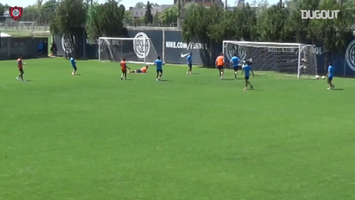 Training Goals: Manuel Insaurralde With An Epic Scissor Kick