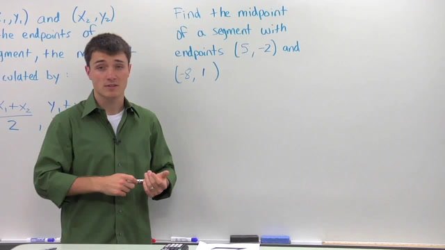Calculating the Midpoint - Problem 2