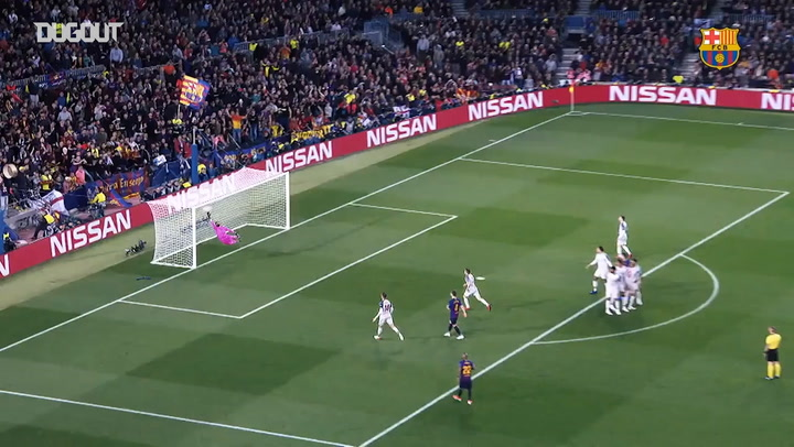 All Messi's Champions League goals in 2019
