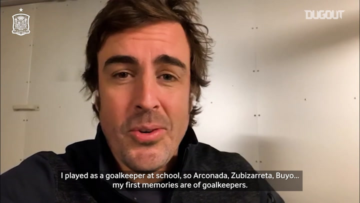 Fernando Alonso: 'I was at Silverstone when we won the World Cup'