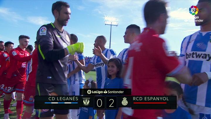 LaLiga: Resumen y Goles del Partido Leganés (0) - (2) Espanyol del 12/05/2019