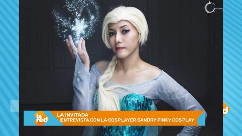 La cosplayer Sandry Pinky Cosplay en La Red