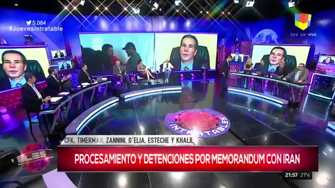 Brancatelli, indignado por el pedido de detención y desafuero para Cristina