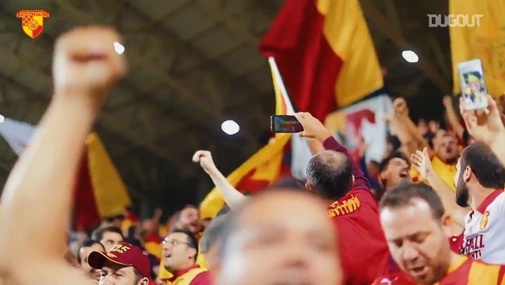 Göztepe Fans Are Fired Up