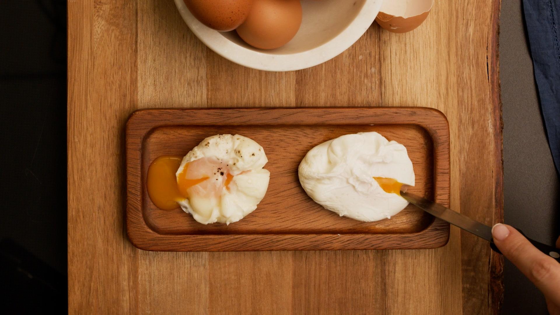 Cómo hacer un huevo poché