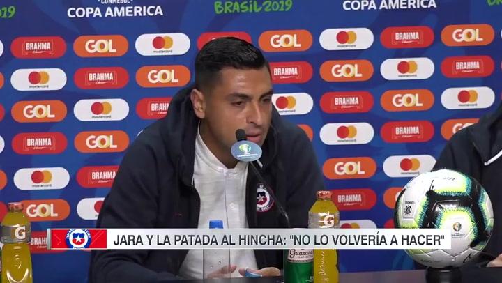 """Gonzalo Jara, arrepentido: """"No lo volvería a hacer"""""""