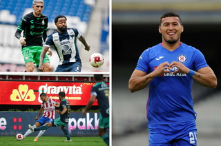 Liga MX: Chivas vuelve a decepcionar, Cruz Azul gana a León y Monterrey le saca el empate a Santos