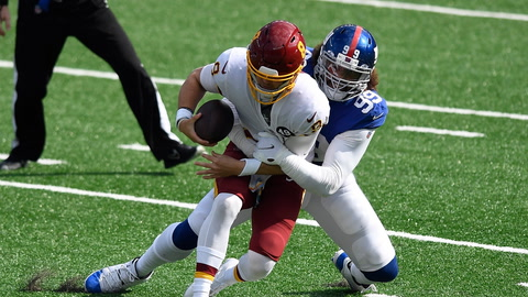 Will Giants' Leonard Williams or Jets' Carl Lawson be this year's sacks leader?