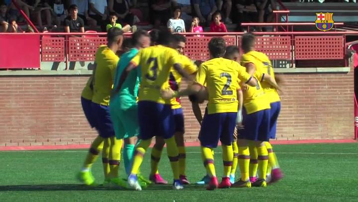 El Barça Juvenil vence al Nàstic