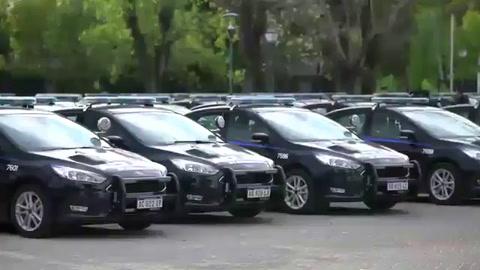 Cómo son los nuevos  patrulleros inteligentes que fueron presentados hoy en Rosario