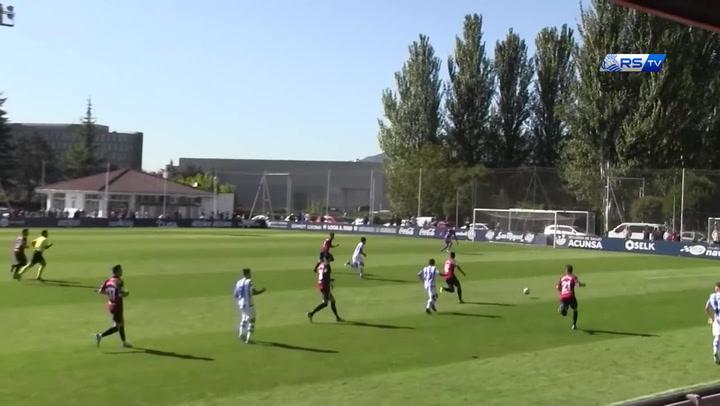 Resumen del amistoso Osasuna - Real Sociedad (0 - 0)