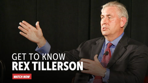 Get to Know Rex Tillerson