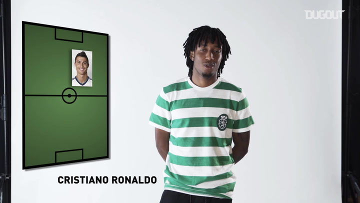 Gelson Martins Picks His Dream 5-a-side Team! ⭐