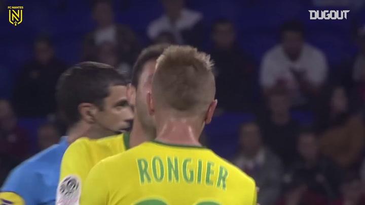 Relembre o golaço de Boschilia pelo Nantes contra o Lyon