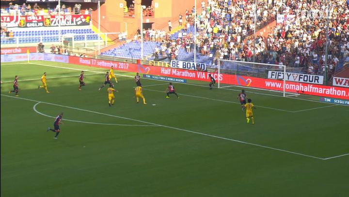 Paulo Dybala'nın Genoa Maçında Yaptığı Hat-trick