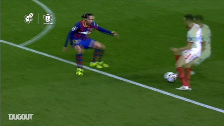 Ter Stegen's vital penalty save vs Sevilla