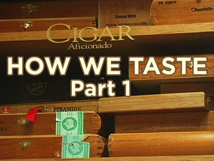 How We Taste, Part 1
