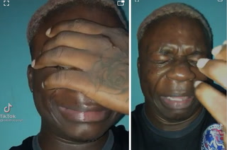 ¿Mofa o realmente dolido? Comediante hondureño y su llanto tras eliminación de Olimpia