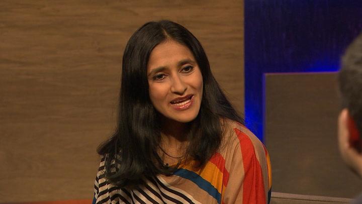 Comedian Aparna Nancherla Talks Conan, Twitter & Tramp Stamps on 'WGTS'