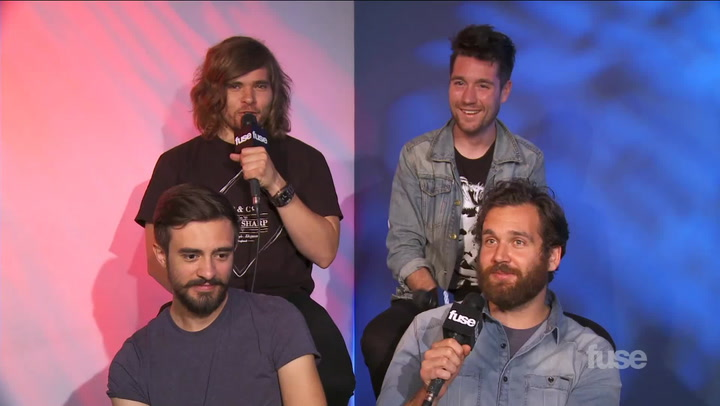 Interviews: Bastille Full Interview - Fuse Fav