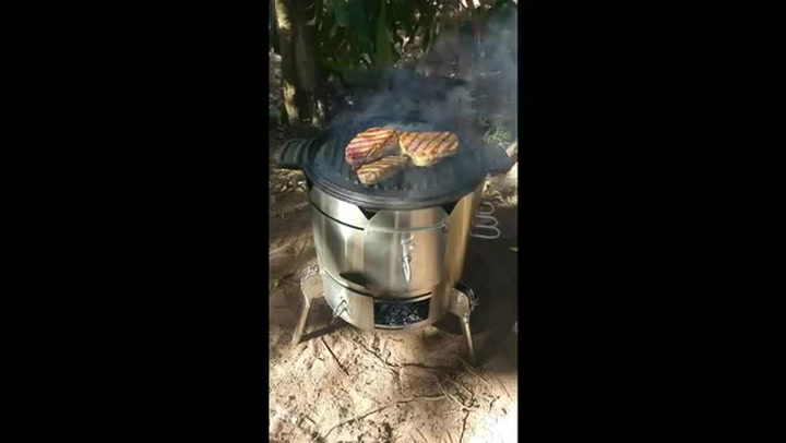 Preview image of PotjieKing Cooker & accessories steak video