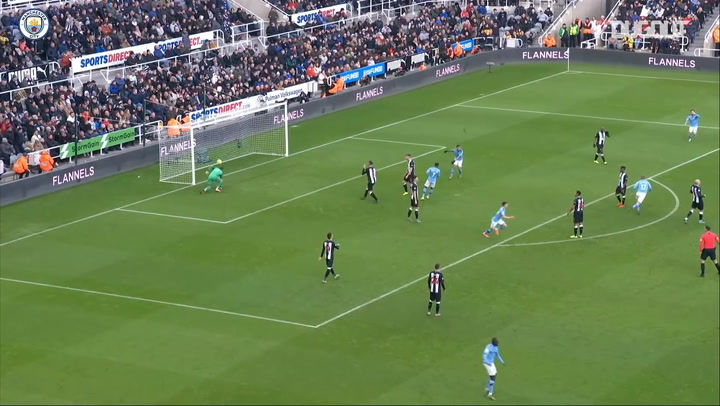 Kevin De Bruyne's remarkable goal against Newcastle United