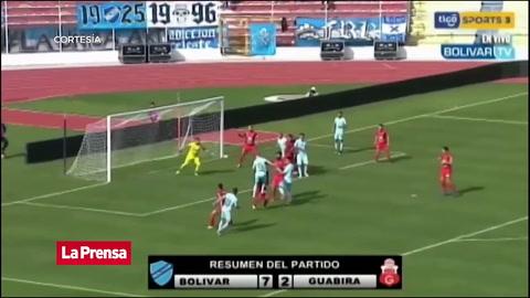 Español Callejón se luce anotando cinco goles en Bolivia
