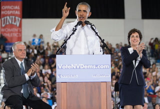 Barack Obama Encourages Las Vegas To Vote Early