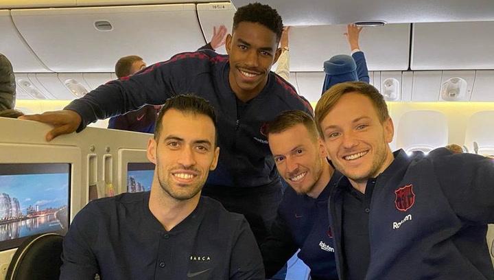El Barça ya vuela rumbo a Arabia Saudí