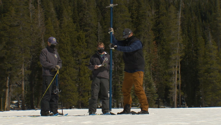 Snow survey reveals California's third driest year on record