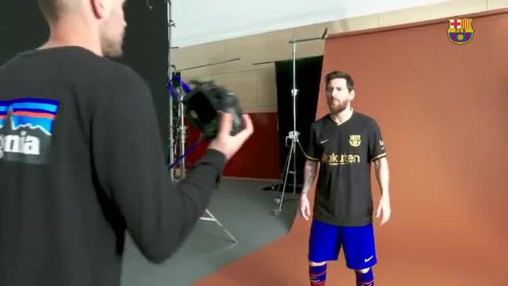 Así fue el 'making of' del anuncio de las nuevas camisetas del FC Barcelona