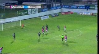 Ilce Barahona fusila al Motagua y marca el descuento para el Platense