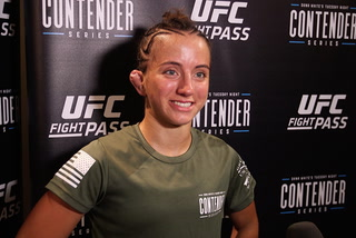 Maycee Barber remains undefeated, inks UFC deal