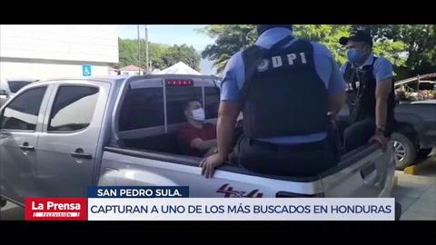 Capturan a uno de los más buscados por la Policía en Honduras