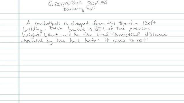 Geometric Series - Problem 8