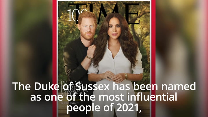 Harry and Meghan named in Time's 100 most influential list