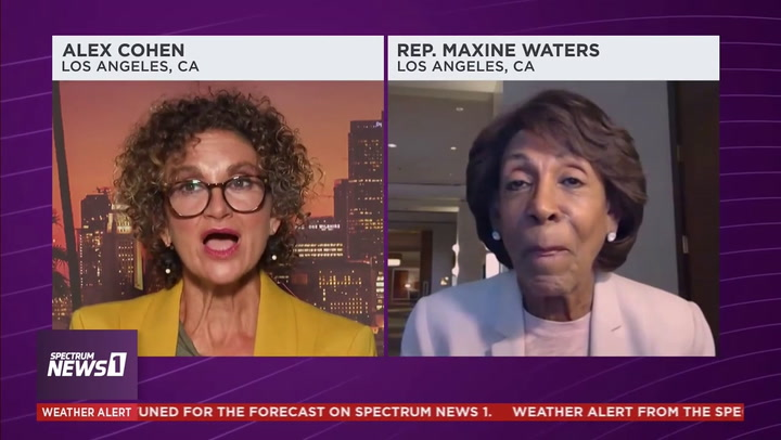Maxine Waters Predicts Kamala Harris Will Be President the United States