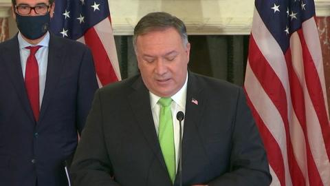 EEUU anuncia que aplicará sanciones