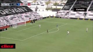 ¡Bombazo y al ángulo! Romell Quioto inicia encendido la temporada MLS y ya marcó su primer gol con Montreal