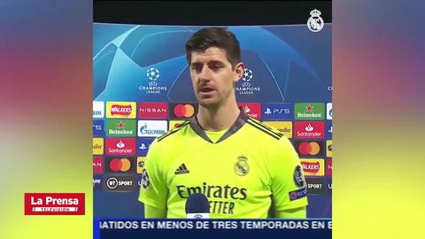 Las palabras de Thibaut Courtois tras la clasificación del Real Madrid a semifinales