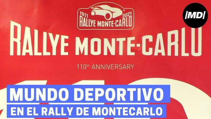 MD en el Rally de Montecarlo