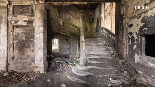 This abandoned parliament building has a dark past