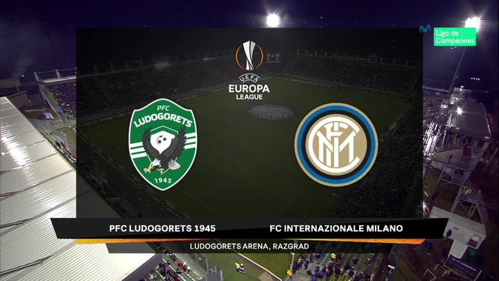 Europa League: Resumen y Goles del Ludogorets - Inter Milán
