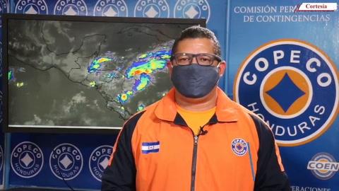 Lluvias y chubascos caerán este martes sobre el territorio nacional, pronostica Copeco