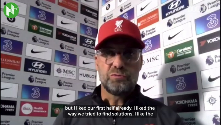 Klopp: 'Thiago the perfect player to bring on in that situation'