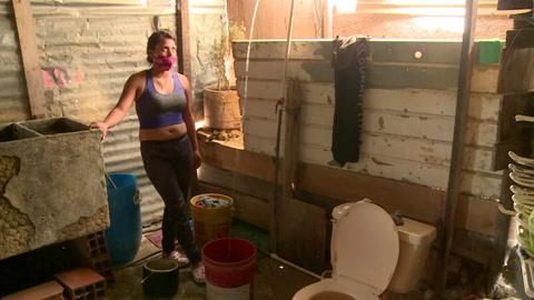 Vivir sin agua corriente bajo la amenaza del coronavirus