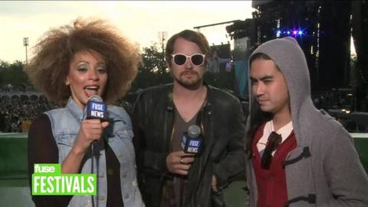 "Festivals: Voodoo 2012: Silversun Pickups Say ""Politics Are Like Pro Wrestling"""